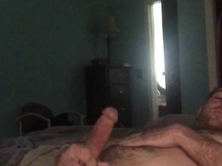 Oiled, lubed, rubbing chest and self