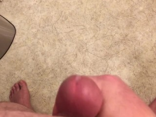 Teasing The Pre-Cum Out Of My Own Cock