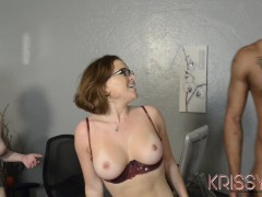 Best Friends Share Big Black Cock And Taste Each Others Juices