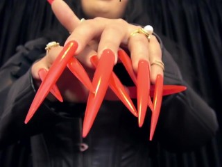 Deepening your addiction to My stiletto nails