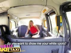 FemaleFakeTaxi Filthy lesbian taxi cab fun and orgasms
