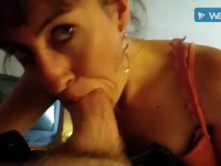 Sexy POV escort slut giving me head & bareback creampie