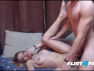 Hard Bodied Blonde Fucks A Big Dicked Stud