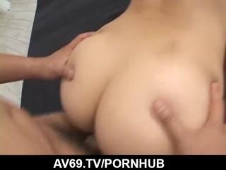 Sayaka Fukuhara makes magic with her very tight pussy