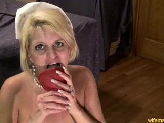 Nurse Gape Blonde Milf Whore Anal Nurse Cosplay