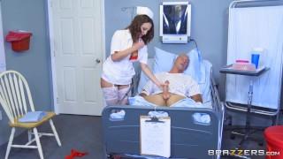 Brazzers - Naughty nurse Lily Love fucks her patient