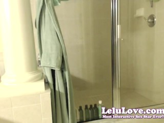 Lelu Love-WEBCAM: ImALoveR Shirts Awards And Shower