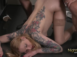 Kitty Blair - Blowjob in Pussy und Anal gefickt