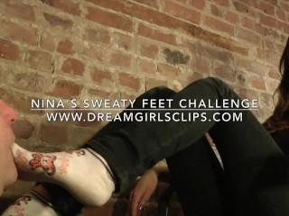 Nina's Sweaty Feet Challenge - www.c4s.com/8983/16436948