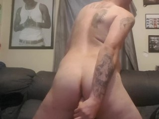 sexy big ass rides big dildo hard