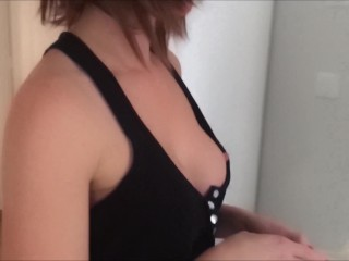 Maid Cleaning Home No Panties