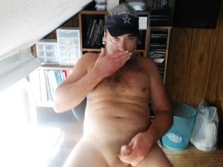 Eating My Cum