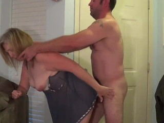 hot wife cheats with neighbor cumshot on her face
