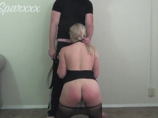 Amateur Wife Punished and Spanked