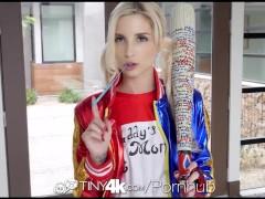 Tiny4K – Bad Girl Piper Perri enjoys a trick or treat fuck