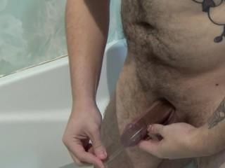 Normal guy tries bathmate week 1
