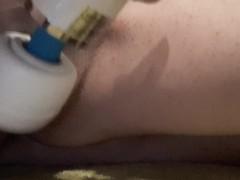 Magicwand masturbation