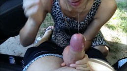 The BEST Blowjob of His Life - He CAME on my FACE!