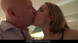Preview 5 of My cutie step daughter loves old cock fucking and pussy fingering