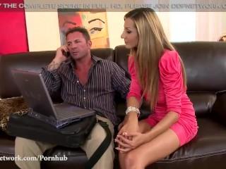 DDF Network - Romanian glamour model loves Double Penetration
