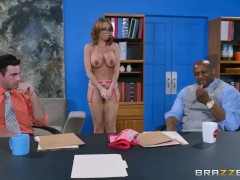 Britney Amber gets gang banged - Brazzers