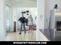 MyBabySittersClub – Adorable Teen Babysitter Fucks For A Raise