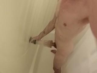 FULL VIDEO straight jacking cock in shower fleshjack toy fun fleshlight wet