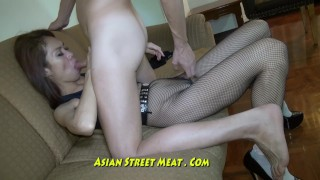 Preview 2 of Nice Slimy Anal Fuck Up Super Asian Slapper
