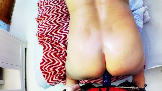 Horny Milf Pegging Hard Husband tight ass. Ass licking fingering submission  strapon guy pegging his ass huge strapon pegging strapon femdom amateur amateur pegging rimming fingering female domination adult toys anal orgasm ass licking homemade femdom pegging cum