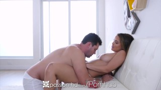 Passion-HD - Dillion Harper flops her big tits and wet pussy on dick