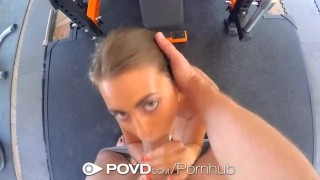 POVD - Athletic Jill Kassidy mixes sex with her workout