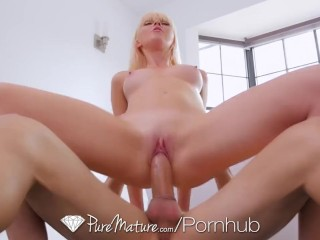 PureMature - Mature housewife Marie McCray fucked by her stepson