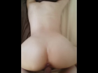 Amateur Asian Gets Doggy Fucked