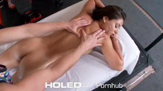 Preview 3 of HOLED - Jynx Maze big booty takes a healthy anal creampie