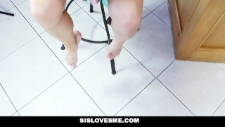Preview 6 of SisLovesMe - Step-Sis Wakes Up To A Mouth Full Of Cock