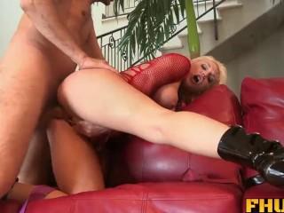 Fhuta - Tristyn Kennedy opens her butt hole to a rigid dick