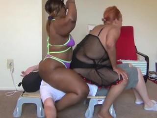 Mistress Lia & Candy Crush Break the Board!