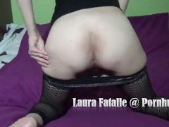 Spanking punishment for sexy girl - Laura Fatalle