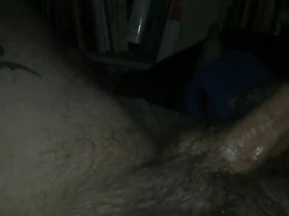 """oiled 8"""" cock...large sticky load"""