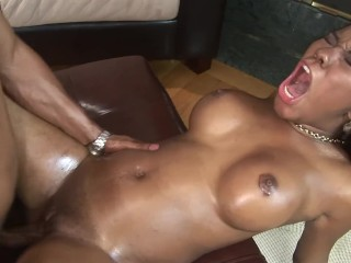 OILY AND WET BANGING!