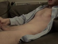 Climaxing And Spraying Ropes For Rebecca -- JohnnyIzFine