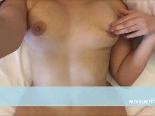 ASMR Curvy, Big Tits POV Masturbation// Whispering V