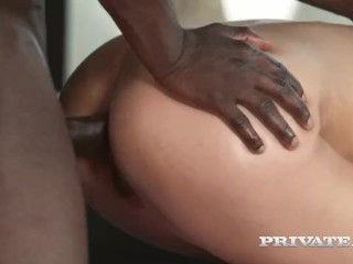 Alexa Tomas' First Interracial Anal