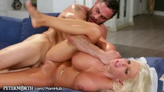 New Stepmom is Slutty and Has Huge Tits  big-tits step-mother step-son mom blonde peternorth big-boobs milf hardcore reverse-cowgirl shaved mother step-mom