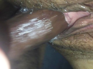 Fucking the shit out of my wife close up