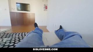 Preview 5 of SisLovesMe - Lil Sis Twerks For Me