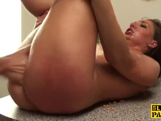 Fingerfucked british sub humiliated by dom