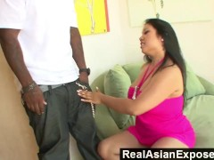 RealAsianExposed – Kya Tropic's Holes Are Too tight For huge Black Cock