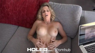 HOLED - Virgin boy anal fucks busty stepmom Cory Chase