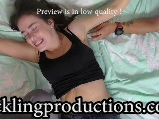Tickling 18 years old belly and pits - Juliet part 3 - FULL CLIP IS 9:32